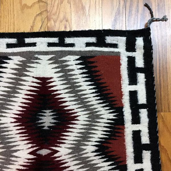 Navajo All Wool Handspun Rug
