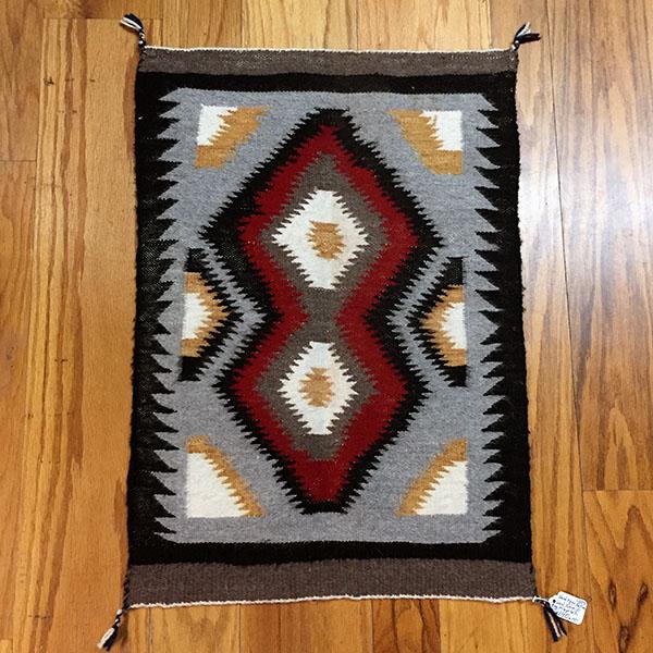 Navajo Klagetoh Handspun Wool Rug