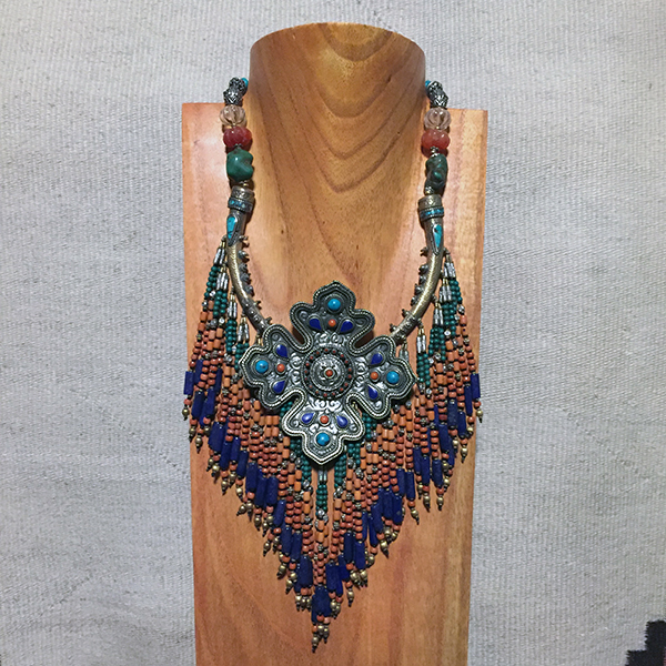 Stunning Tribal Tibetan Necklace