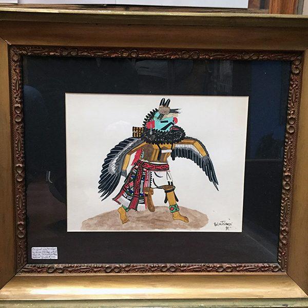 Original Watercolor Hopi Paul Talawepi