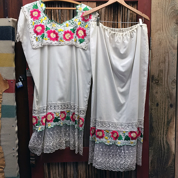 Traditional Mexican Embroidered Skirt